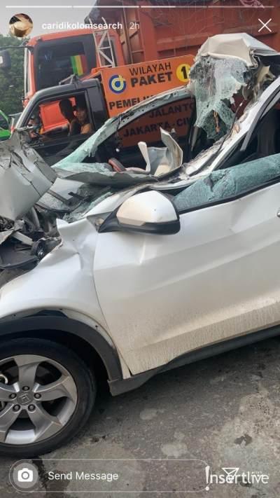 Kecelakaan Parah di Tol, Kondisi Dylan Carr Kritis dan Alami Pendarahan Otak
