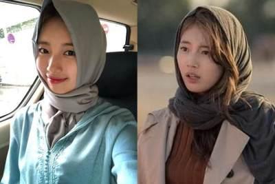 Tampil Beda di 'Vagabond', Ini 6 Potret Cantik Bae Suzy Kenakan Hijab