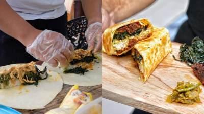 Nasi Padang Burito, Inovasi Baru Makan Nasi Padang ala Orang Meksiko