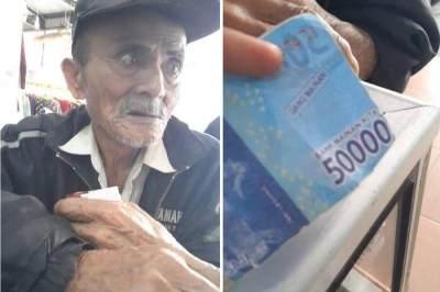 Viral Kisah Sedih Kakek Kena Tipu, Tak Bisa Beli Obat Sesak Napas Gara-gara Uang Mainan