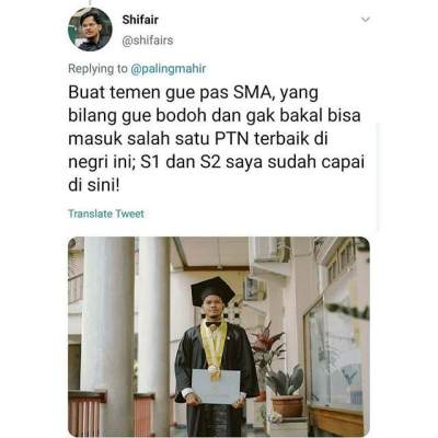 S1 dan S2 Di PTN Terbaik Indonesia