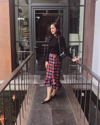 6 Style Fashion Korea ala Nasya Marcella, Mantan Pemain Sinetron Anak Langit