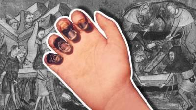 Black Death, Wabah Maut Hitam yang Mulai Menyerang China