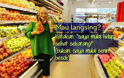 Diet Kenyang Ala Dewi Hughes, Sukses Turun 90kg dalam 15 Bulan!