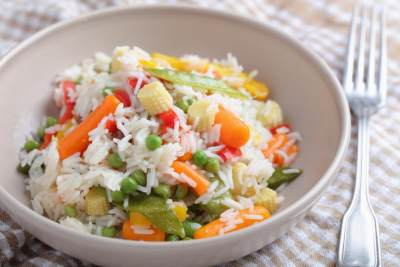 2. Harus makan lebih banyak sayuran daripada nasi