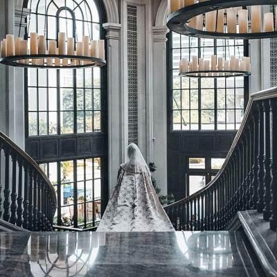 Mengintip Gaun Pengantin Mewah Dian Pelangi yang Resmi Dipersunting Sandy Nasution