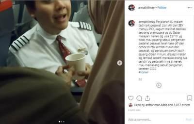 Fakta Di Balik Video Viral Pramugara Lion Air Bantu Lansia, Inikah Sosoknya?