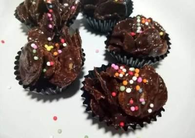 5. Corn flakes cokelat