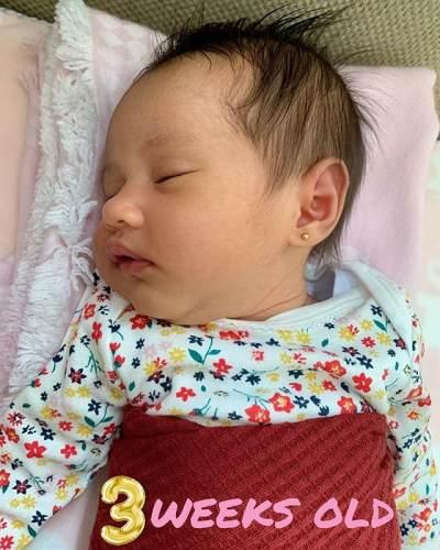6 Potret Cantik Anak Kartika Putri yang Sempat Disembunyikan, Hidungnya Gemes Banget!