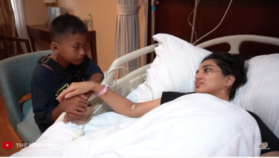 Ashanty Jatuh Sakit, Doa Tulus Putra 'Penjual Cilok' Penuh Haru