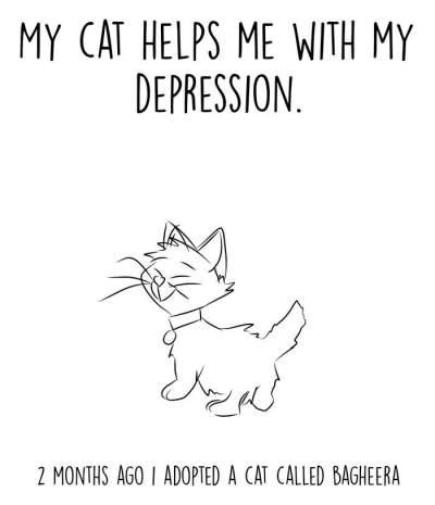 Pelihara Kucing, Pria Ini Terbebas dari Depresi yang Dideritanya