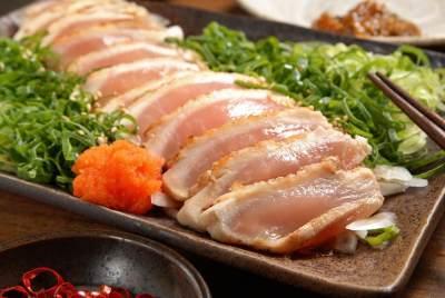 2. Sashimi ayam