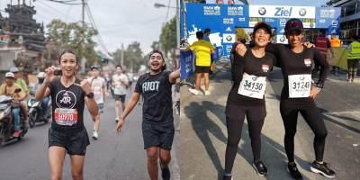 Hobi Olahraga Lari, 5 Artis Ini Ikut Marathon 42 Km!