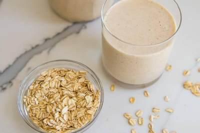 4. Susu gandum (oat)