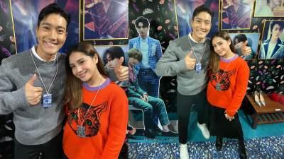 Rafathar Ogah Digendong Siwon 'Super Junior', Nagita Jadi Trending di Korea