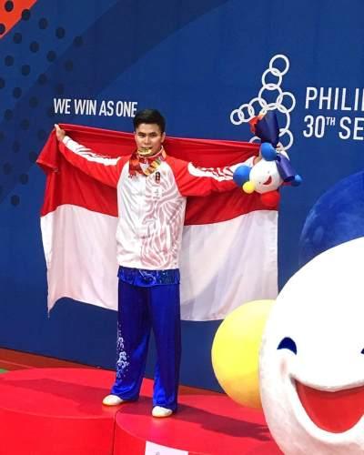 Penuh Haru! Edgar Marvelo Raih 2 Medali Emas SEA Games 2019 Saat Kehilangan Ayahnya