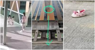 Viral Video Balita Terjatuh dari Lantai 5 Hingga Tewas Akibat Celah Pembatas Tak Lengkap