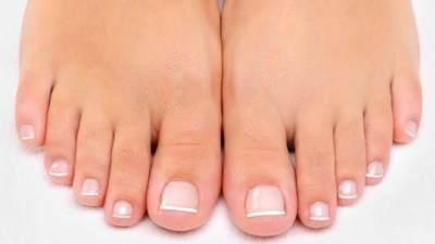 3. Perubahan bentuk jari kaki