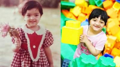 Bagai Kembar, Ternyata 8 Foto Masa Kecil Artis Ini Mirip Anaknya, Gemes!