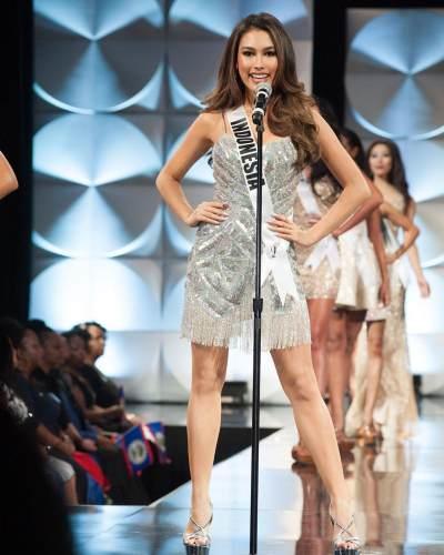 Sejarah Baru! Frederika Alexis Cull Bawa Indonesia Tembus 10 Besar Miss Universe 2019