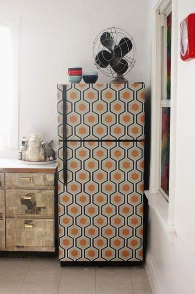 Bisa Percantik Dapur, Wallpaper Kulkas Berisiko Sebabkan Kebakaran?
