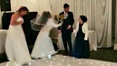 Mantan Datang ke Pernikahan dengan Gaun Pengantin, Ini Reaksi Mempelai Wanita