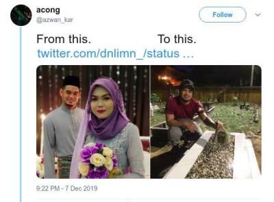 Bukti Cinta Tak Terpisah Maut, Pria Ini Kunjungi Makam Istri Setiap Hari