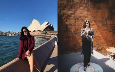 7 Potret Cyndyana Lorens, Pramugari Cantik yang Diduga 'Simpanan' Ari Askhara