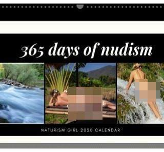 Buat Kalender 2020 dengan Foto Telanjang, Influencer Ini Bikin Heboh Netizen