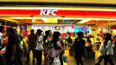 3. Familiar dengan KFC