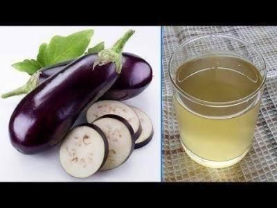 Resep membuat air rebusan terong