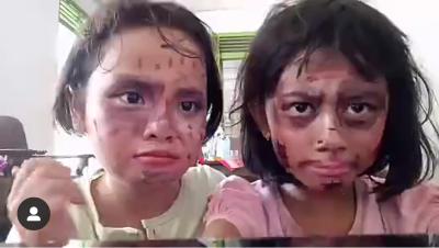 Makeup bersama teman