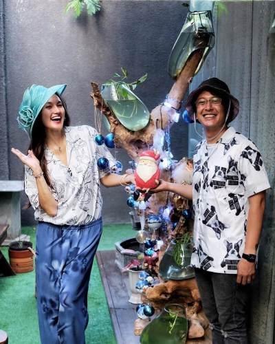 8 Momen Artis Rayakan Natal, Nadine Buat Pohon Natal Paling Unik!