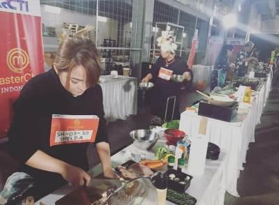7 Potret Imelda Tahir, Artis Sinetron dan FTV yang Jadi Peserta MasterChef Indonesia