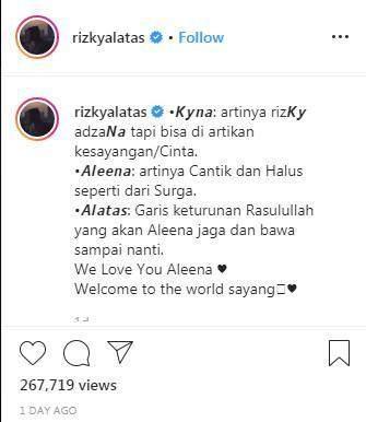 Arti Nama Aleena Kyna Alatas