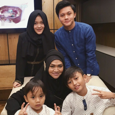 Lina dan Sule Dikaruniai 4 orang anak