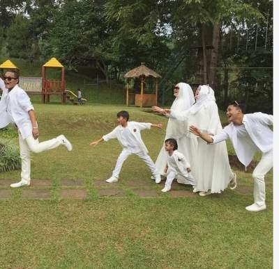 Kekompakkan Sule, Lina, dan Anak-anaknya