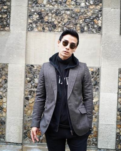 10 Potret Ryochin, Pacar Ganteng Luna Maya yang Dibilang Mirip 'RM' BTS
