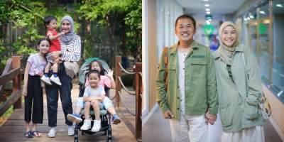 Terserang Bakteri, Zaskia Adya Mecca dan 4 Anaknya Masuk Rumah Sakit