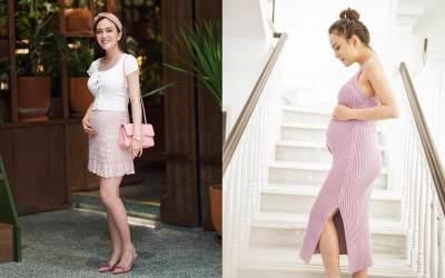 Tetap Langsing Selama Hamil, Ini 8 Potret Cantik Shandy Aulia dengan Baby Bump