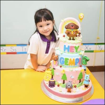 5. Kue ulang tahun lucu
