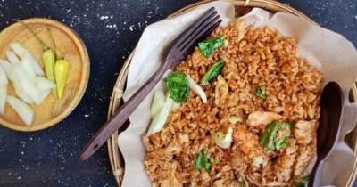 Nasi Goreng Arang