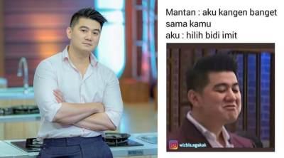 Viral Meme Lucu Chef Arnold Karena Sering 'Nyinyir' di MasterChef Indonesia