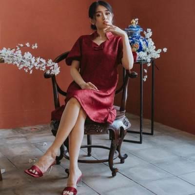 5 Inspirasi Fashion Imlek ala Selebgram Nikita Kusuma yang Cantik dan Simpel