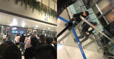 Diduga Suspect Corona, Orangtua Ini Tega Tinggalkan Anaknya di Bandara