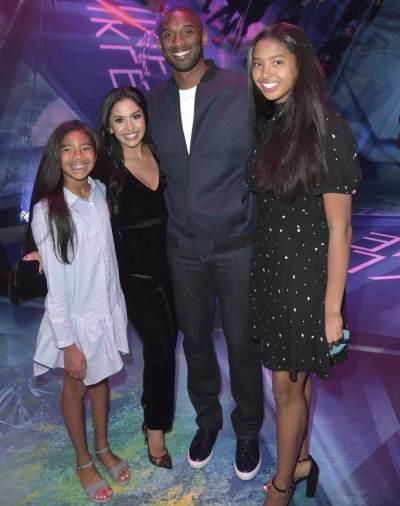 Superstar & Family Man, Ini 11 Foto Kobe Bryant dengan Keluarga Kecilnya