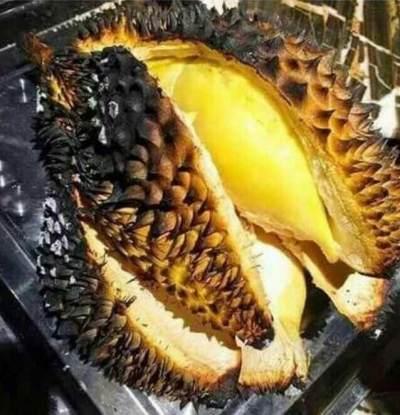 Manis Legit dengan Bau Tak Menyengat, Cobain 'Kuy' Durian Bakar Ini!