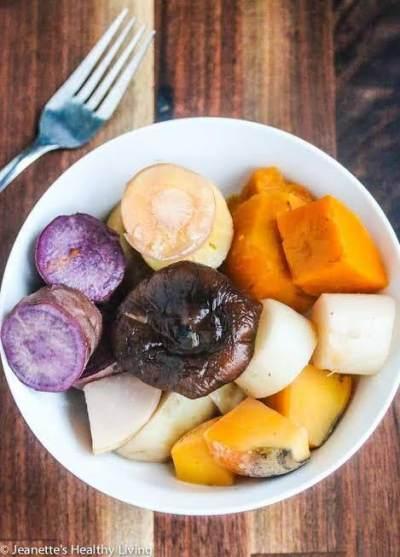 1. Sayur, Buah, Umbi-umbian dan Protein Hewani