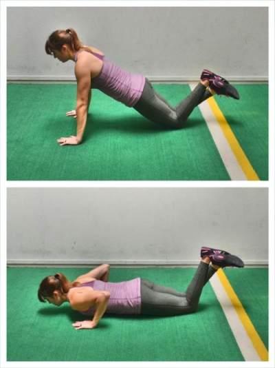 Hindari Cedera dengan Posisi Push Up yang Benar