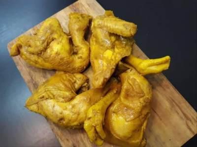 Resep Bumbu Ayam Ungkep Kuning